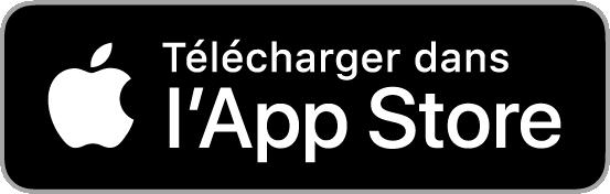 Bouton de téléchargement iOs App Store