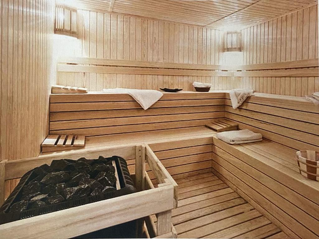 Espace sauna