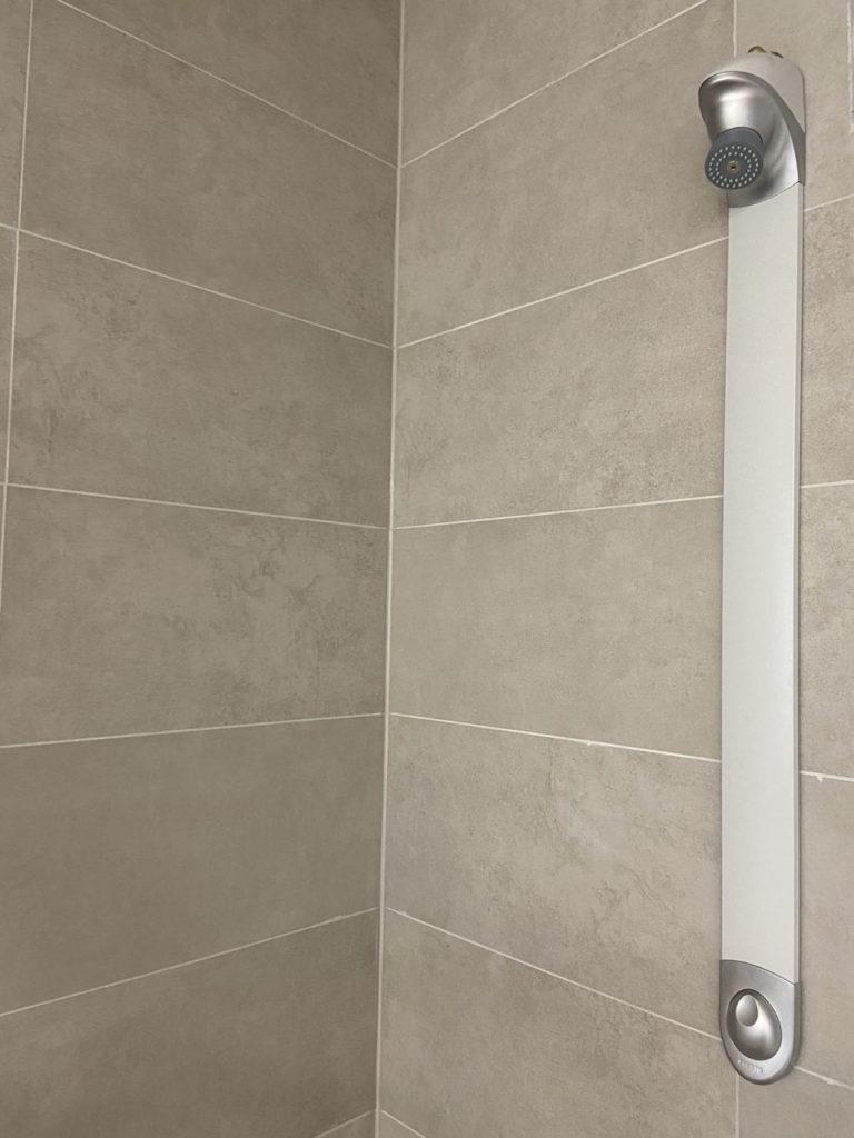 Intérieur des douches