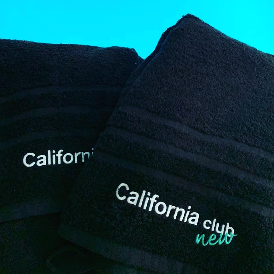 Nouvelles serviettes California Club New