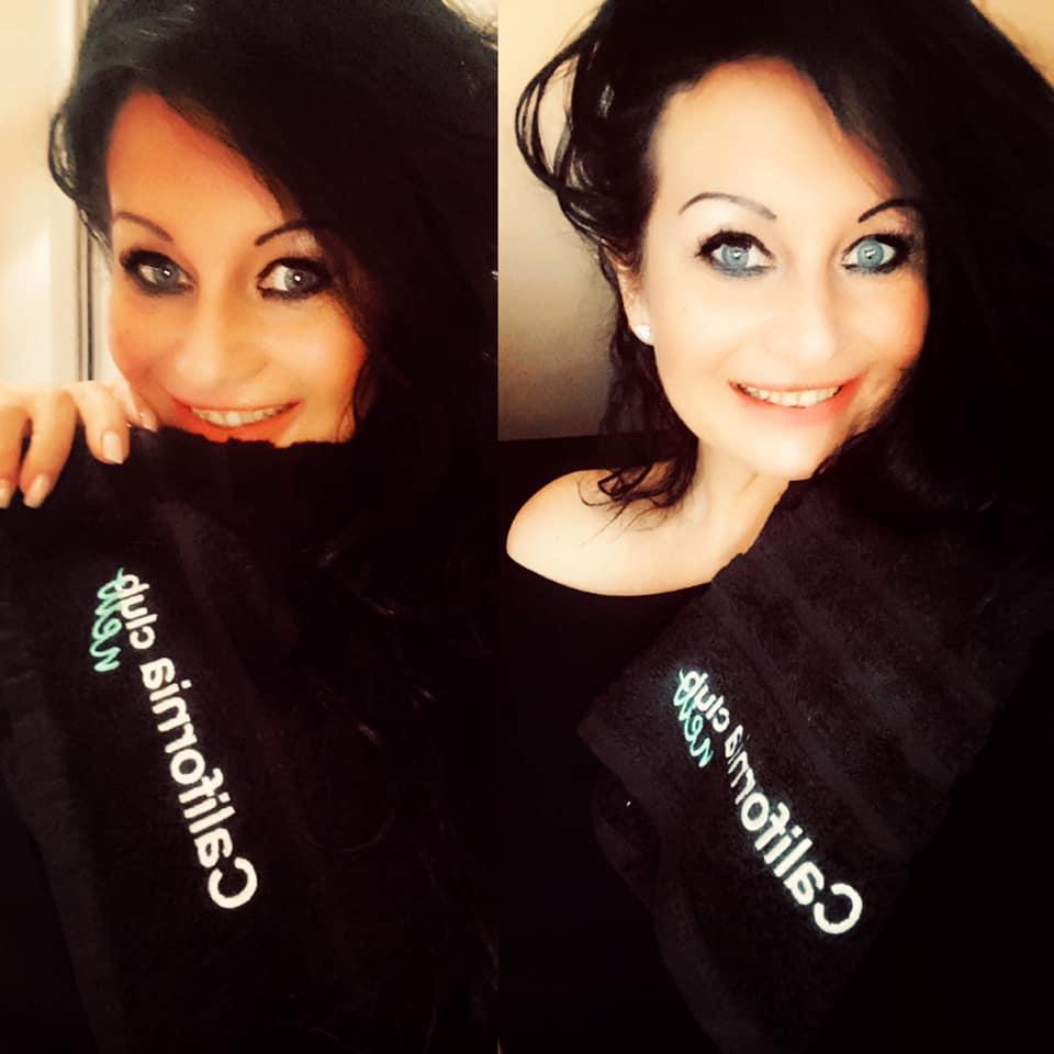 Radovana et les nouvelles serviettes du California Club New