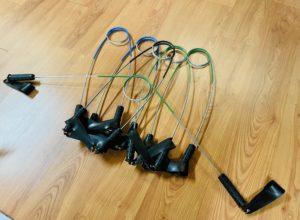 Instrument de Recabic, offrant une résistance élastique